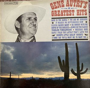 "Gene Autry's ""Greatest Hits"" Vinyl Album $10 for Sale in Ringgold, GA"