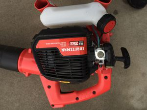 Craftsman 25CC gas Blower for Sale in Fresno, CA