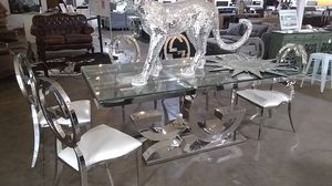 Dining set table and chairs Gucci style for Sale in Dallas, TX