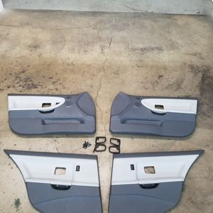BMW E36 SEDAN Dove Grey DOOR PANELS for Sale in Orange, CA