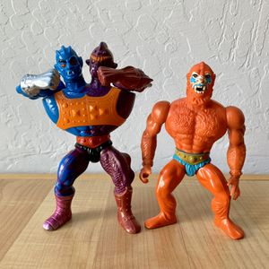Vintage Heman Masters of the Universe Two Bad & Beast Man Action Figure MOTU Toy Lot for Sale in Elizabethtown, PA