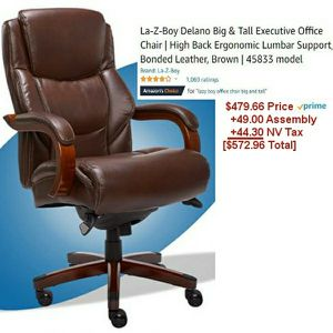 Brand NEW La-Z-boy Delano Big and Tall Executive Office Chair Highback Ergonomic for Sale in Las Vegas, NV