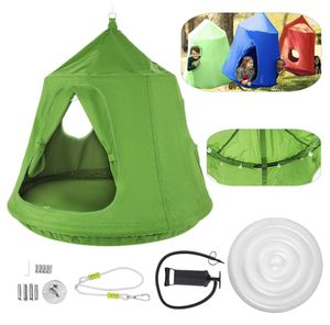 46 H x 43.4 Diam Hanging Tree Tent for Kids Waterproof Portable w/ Led Lights for Sale in Pomona, CA