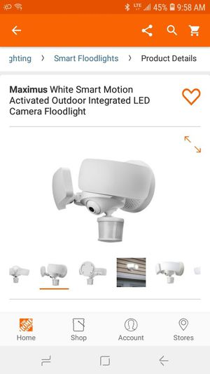 MAXIMUS CAMERA FLOODLIGHT for Sale in San Diego, CA