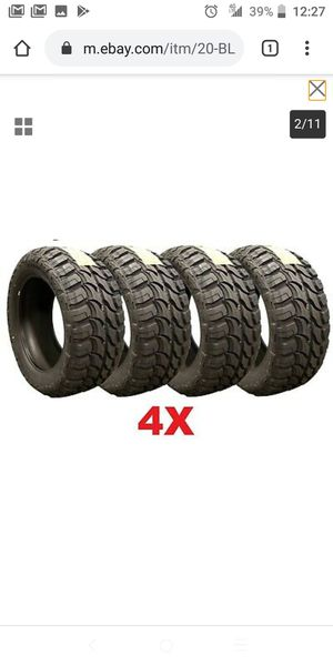 33125020 rdr mud tires on sale for Sale in Tacoma, WA