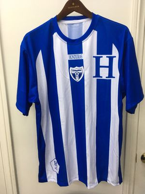 A lot of 11 brand new men's soccer jerseys size larges for Sale in Burbank, CA