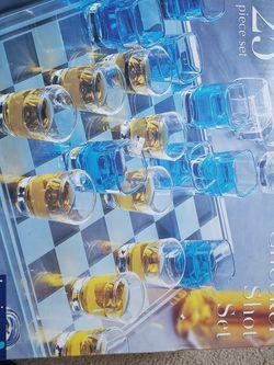 Checker Shot Set, Glass for Sale in Sterling,  VA