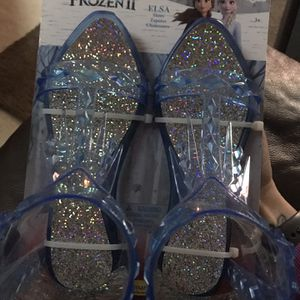 Frozen Dress Up Shoes for Sale in Columbia Station, OH
