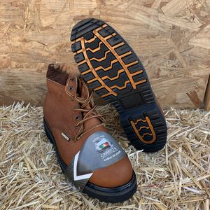 Bota con casquillo MENS construction steel toe work boot for Sale in Lynwood, CA