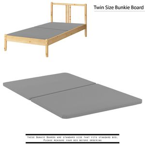 """Spinal Solution 1.5"""" Fully Assembled Split Bunkie Board, Twin [open box] [Item 2033] for Sale in Irving, TX"""