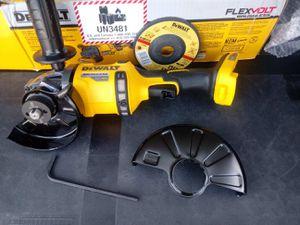 DeWalt grinder flex volt**tool only** for Sale in San Bernardino, CA