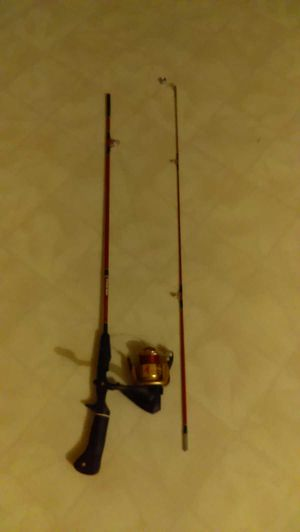 Fishing rod and reel for Sale in Holts Summit, MO