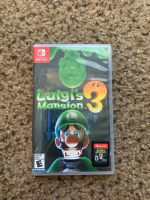 Luigis Mansion 3 Nintendo Switch for Sale in Richmond, KY