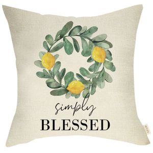 🛍NEW BLESSED PILLOW COVER🛍 SHIPPING AVAILABLE for Sale in West Jordan, UT