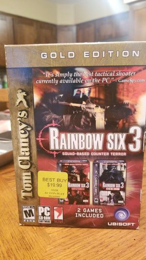 PC CD-Rom software. Rainbow Six 3 Gold Edition for Sale in Arlington, TX