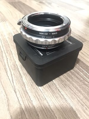 K&F Concept Lens Mount Adapter Ring Nikon AI (G) Mount Lens to Micro Four Thirds M43 Camera Body Fits Panasonic Micro and Olympus Micro 4/3 Cameras A for Sale in El Monte, CA