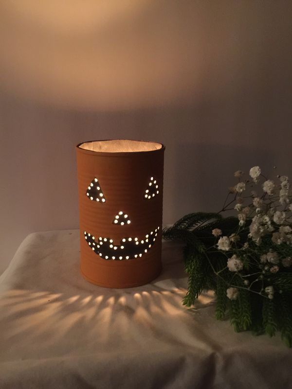Happy Pumpkin Halloween Luminary