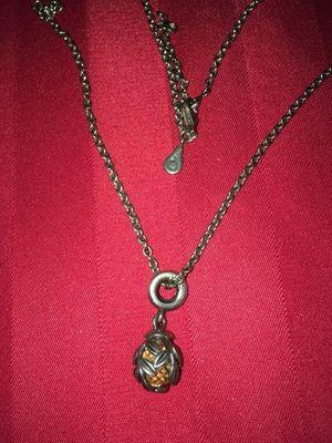 Rare Bronze color Pandora Necklace! for Sale in Greensboro, NC