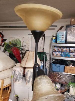Floor lamp heavy, in excellent condition for Sale in Wesley Chapel, FL