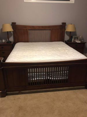 King size bed frame for Sale in Hendersonville, NC