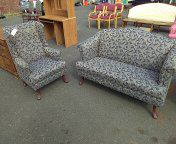 Loveseat and wingback chair for Sale in Camden, NJ