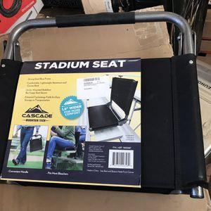 Cascade Mountain Tech SS-ALTextured-BK-18.5 Stadium Seats for Bleachers for Sale in Redlands, CA