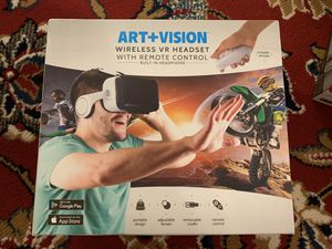 Brand new Art + Vision wireless VR Headset for Sale in Alexandria, VA