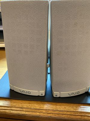 Sony VAIO Active Speakers System for Desktop / Laptop for Sale in Plano, TX