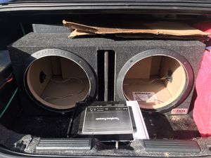 12 inch subwoofer box ported for Sale in BETHEL, WA