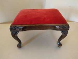 Vintage Foot Stool solid wood. for Sale in Marysville, WA