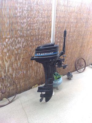 Mercury 4.5 outboard motor for Sale in San Jacinto, CA
