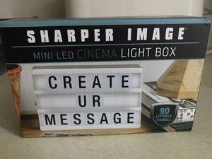 Mini light box $10!! for Sale in Clovis, CA