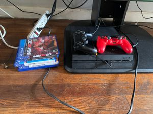 500gig PS-4 with 2 controllers and games for Sale in Bluffton, SC