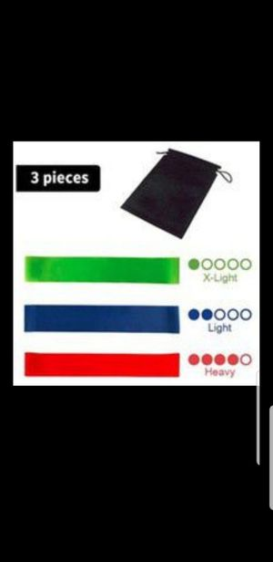 Exercise Resistance Bands Set 3 Levels for Sale in Miami, FL