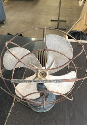Antique Westinghouse oscillating fan for Sale in Torrance, CA