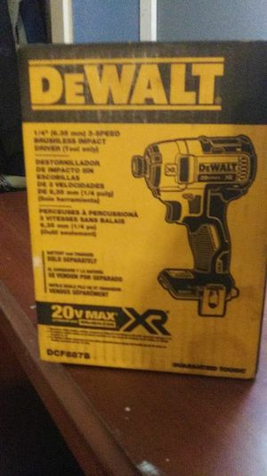 Dwalt drill only the drill not battery or charger brand new in the box for Sale in Los Nietos, CA