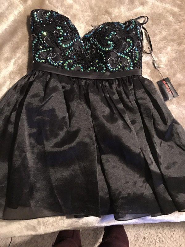 Short Black Prom/Formal Dress