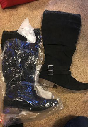 Brand new Woman's boots for Sale in Mountlake Terrace, WA