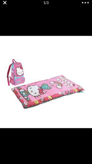 Hello Kitty backpack with sleeping bag for Sale in Lilburn, GA