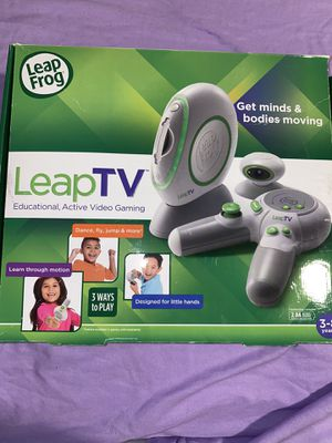 Leap Frog Leap TV Gaming System for Kids for Sale in Carrollton, TX