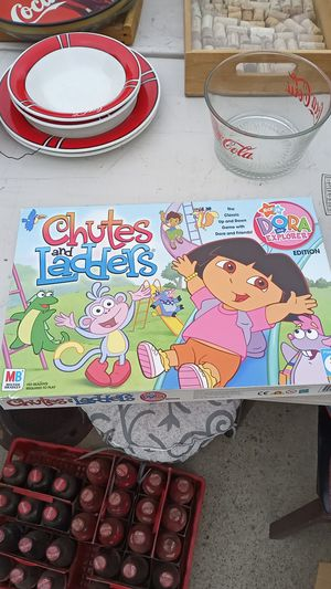 Dora chutes and ladders kids board game for Sale in Chino Hills, CA