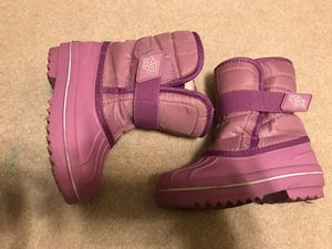 Winter boots size 9t purple Children's Place toddler girl for Sale in Schaumburg, IL