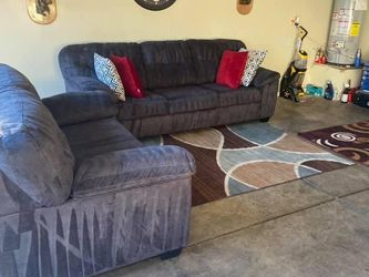 Beautiful Charcoal Gray Couch Set for Sale in Las Vegas,  NV