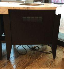 Marble Slab Candy Store Recessed Dipping Cabinet for Sale in Palm Harbor,  FL