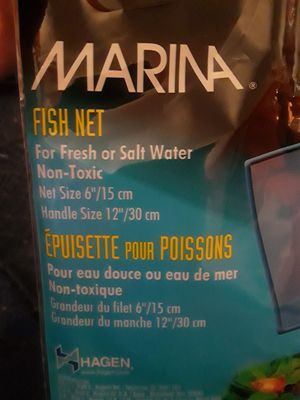 Net for fish tank for Sale in Olivette, MO