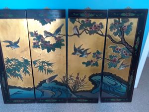 Chinese 4 panel wall hangings for Sale in Riviera Beach, FL