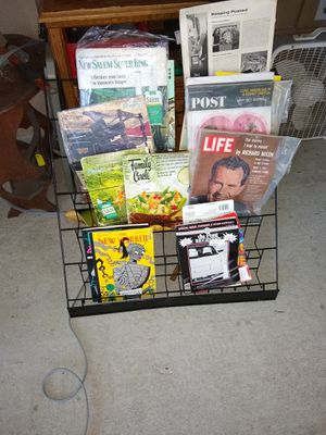 Magazine / book Rack for Sale in Lakeland, FL