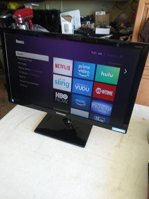 "Samsung computer monitor hdmi 24"" for Sale in Lake Elsinore, CA"