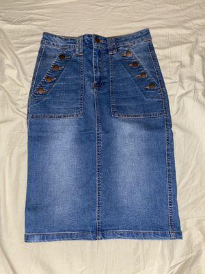 Denim pencil skirt for Sale in Yuba City, CA