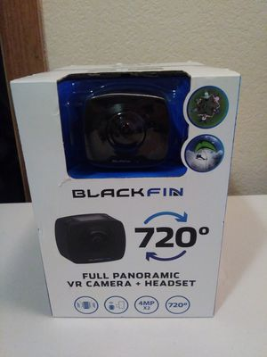 Blackfin full panoramic vr camera and headset. for Sale in Mesa, AZ